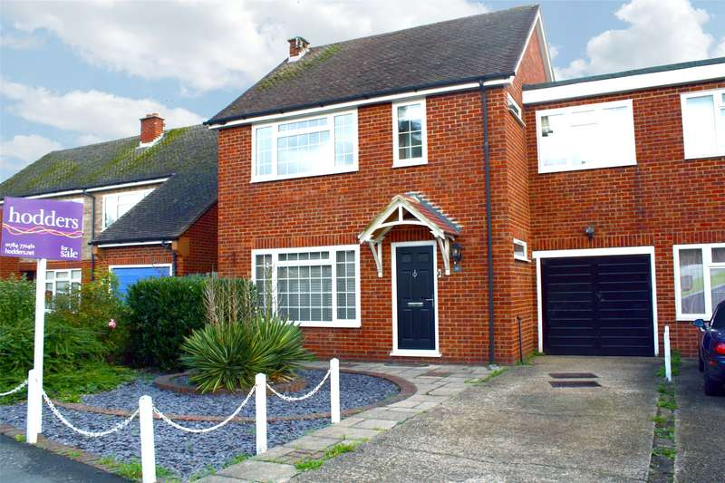 3 Bedrooms Semi Detached House for sale in Spring Rise, Egham, Surrey, TW20