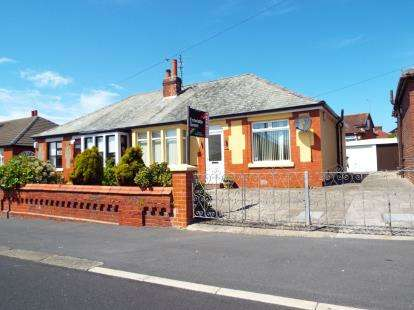 2 Bedrooms Bungalow for sale in Greenwood Avenue, Blackpool, Lancashire, FY1