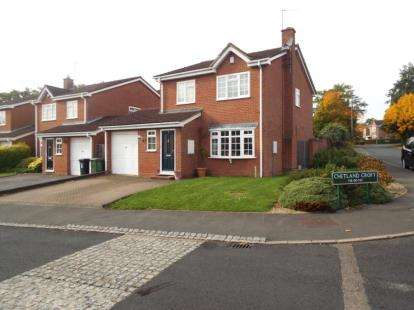 4 Bedrooms Detached House for sale in Chetland Croft, Solihull, West Midlands