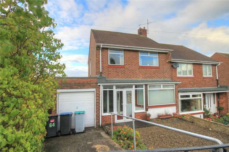 3 Bedrooms Semi Detached House for sale in Backstone Road, Bridgehill, Consett, DH8