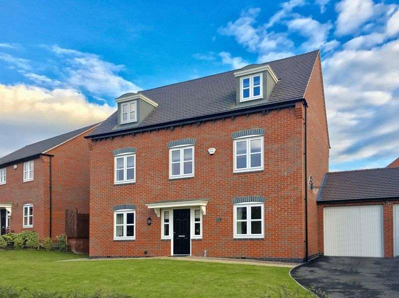 5 Bedrooms Detached House for sale in Paisley Walk, Swadlincote
