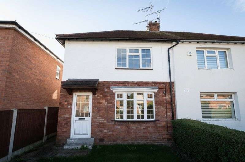 2 Bedrooms Semi Detached House for sale in Park Avenue, Uttoxeter