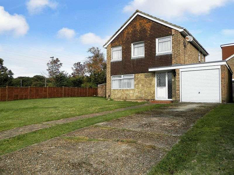 3 Bedrooms Detached House for sale in Dankton Gardens, Sompting