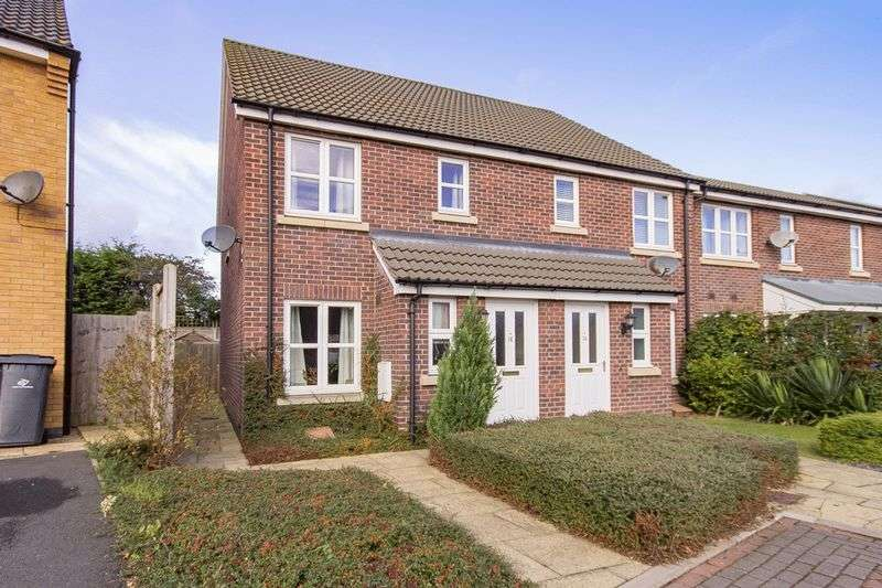 2 Bedrooms Semi Detached House for sale in TEMPLETON CLOSE, MICKLEOVER