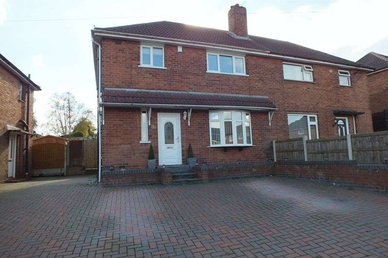 3 Bedrooms Semi Detached House for sale in Everest Road, Kidsgrove, Stoke-On-Trent
