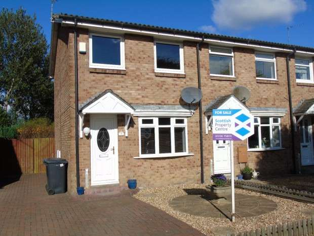 2 Bedrooms End Of Terrace House for sale in Chapelside Avenue, Town Centre, Airdrie, ML6