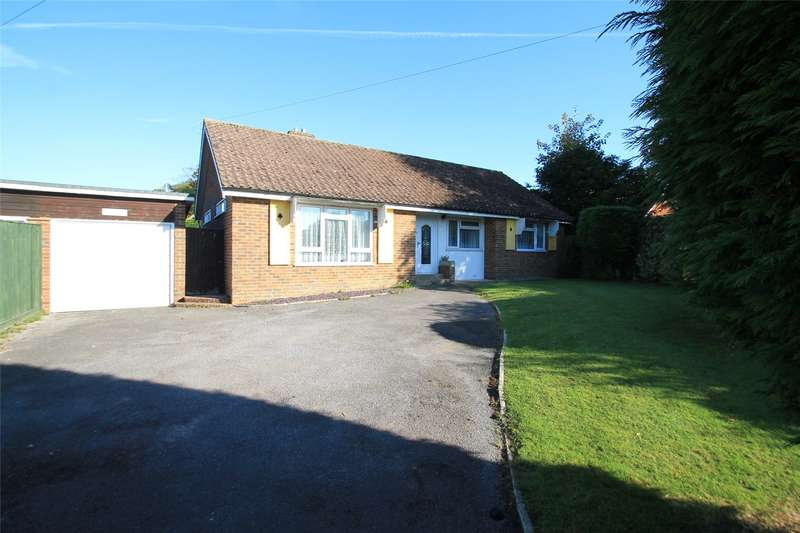 3 Bedrooms Detached Bungalow for sale in Station Road, Rustington, West Sussex, BN16