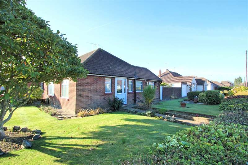 2 Bedrooms Semi Detached Bungalow for sale in Rackham Road, Worthing, West Sussex, BN13