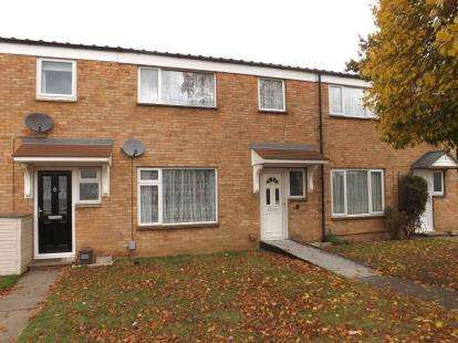 3 Bedrooms Terraced House for sale in Winston Crescent, Biggleswade, Bedfordshire, .