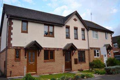 2 Bedrooms Terraced House for sale in Goshawk Road, Quedgeley, Gloucester, Gloucestershire
