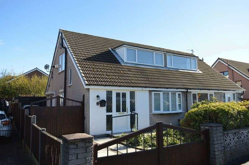 2 Bedrooms Semi Detached House for sale in Millingford Avenue, Golborne,WA3 3XF