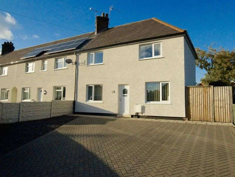 2 Bedrooms Terraced House for sale in First Avenue, Llay, Wrexham