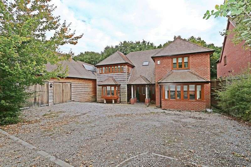 4 Bedrooms Detached House for sale in Hunts Pond Road, Titchfield Common