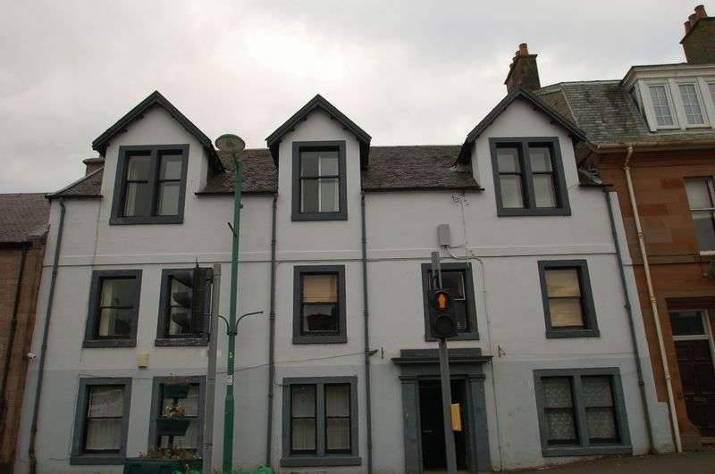 2 Bedrooms Flat for sale in Main Street, Carnwath