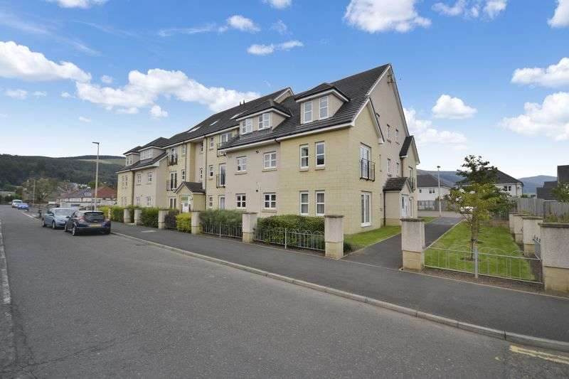2 Bedrooms Flat for sale in 15 Dyers Close, Innerleithen, EH44 6QF