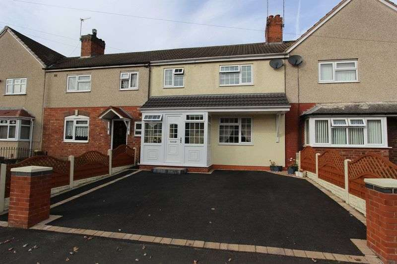3 Bedrooms Terraced House for sale in Powis Avenue, Tipton