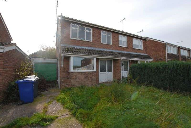 3 Bedrooms Semi Detached House for sale in Grenville Close, Uttoxeter