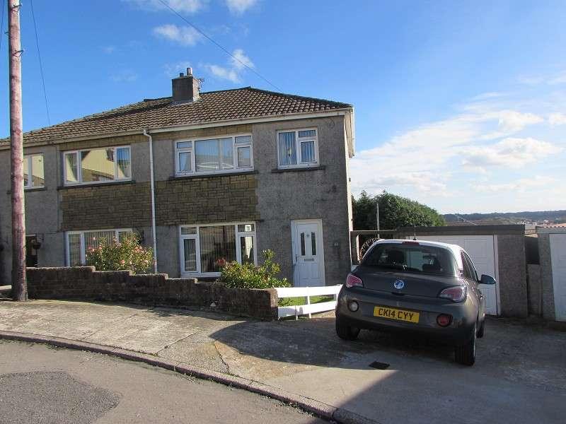 3 Bedrooms Semi Detached House for sale in Hillcrest , Brynna, Pontyclun, Rhondda, Cynon, Taff. CF72 9SL