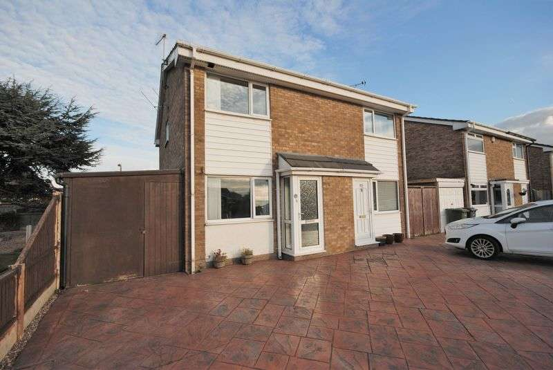 2 Bedrooms Semi Detached House for sale in Thornley Road, Moreton