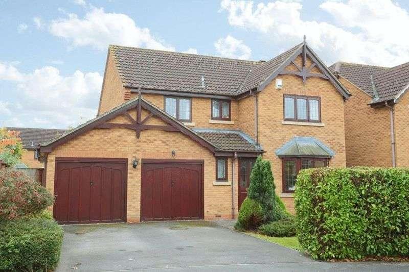 4 Bedrooms Detached House for sale in Speedwell Close, Melksham