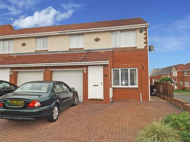 3 Bedrooms Semi Detached House for sale in Glamis Court, Woodstone Village, Houghton le Spring, Tyne and Wear
