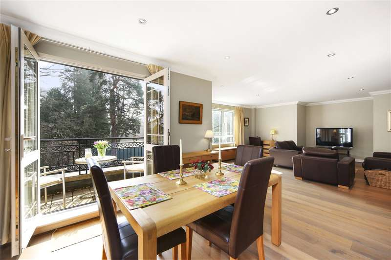 2 Bedrooms Flat for sale in St. George's Court, Cavendish Road, Weybridge, Surrey, KT13