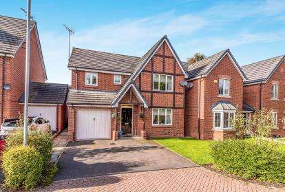 4 Bedrooms Detached House for sale in Bridgeford Grove, Great Bridgeford, Stafford, Staffordshire