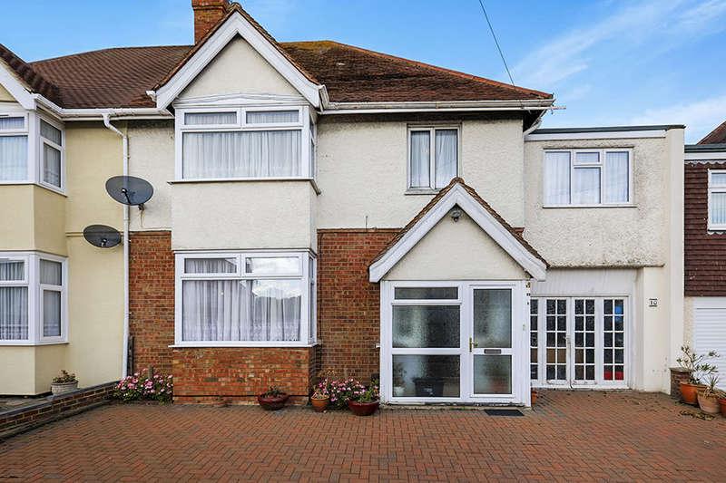 4 Bedrooms Semi Detached House for sale in Alder Road, Folkestone, CT19