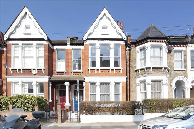 4 Bedrooms Terraced House for sale in Hearnville Road, Balham, London, SW12