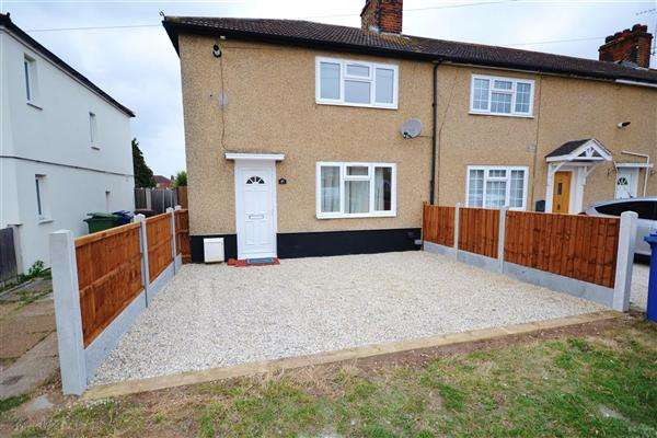 3 Bedrooms End Of Terrace House for sale in Ruskin Road, Chadwell St.Mary