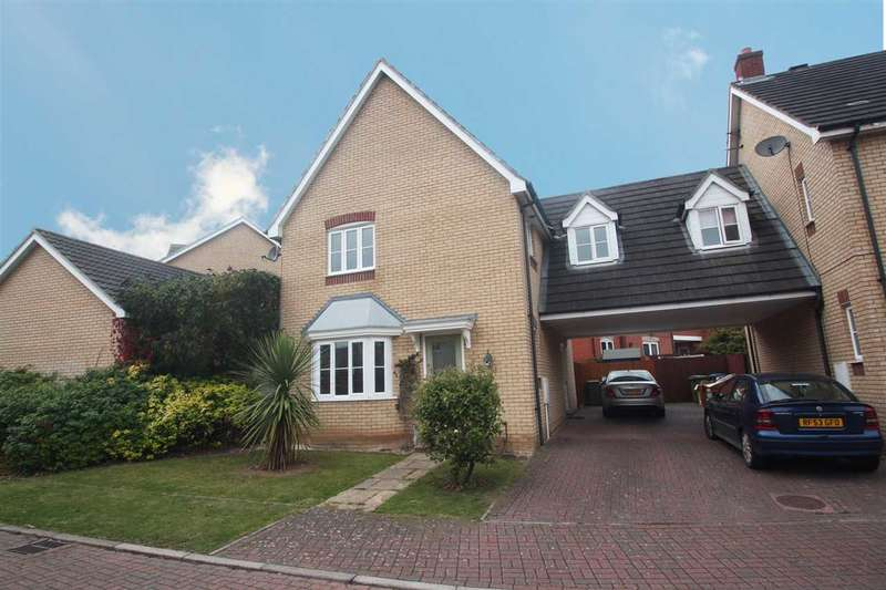 3 Bedrooms Link Detached House for sale in Copper Grove, Ipswich