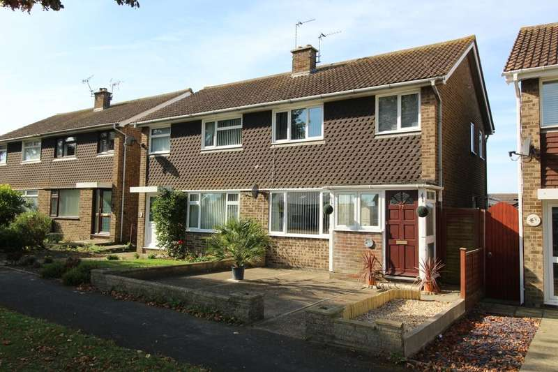 3 Bedrooms Semi Detached House for sale in Gainsborough Crescent, Eastbourne, BN23