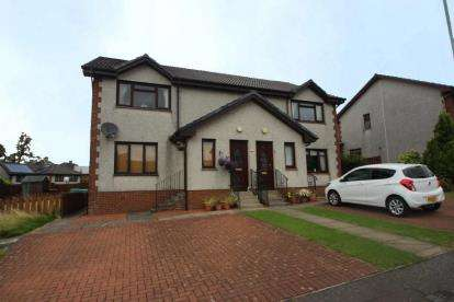 2 Bedrooms Flat for sale in Main Street, Caldercruix, Airdrie, North Lanarkshire