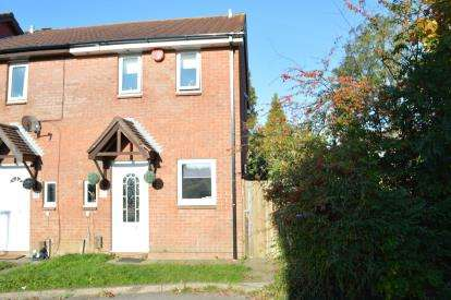 2 Bedrooms End Of Terrace House for sale in Muscliff, Bournemouth, Dorset