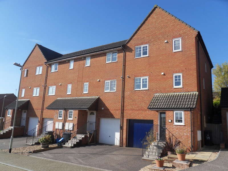 3 Bedrooms End Of Terrace House for sale in Chaucer Rise, Exmouth