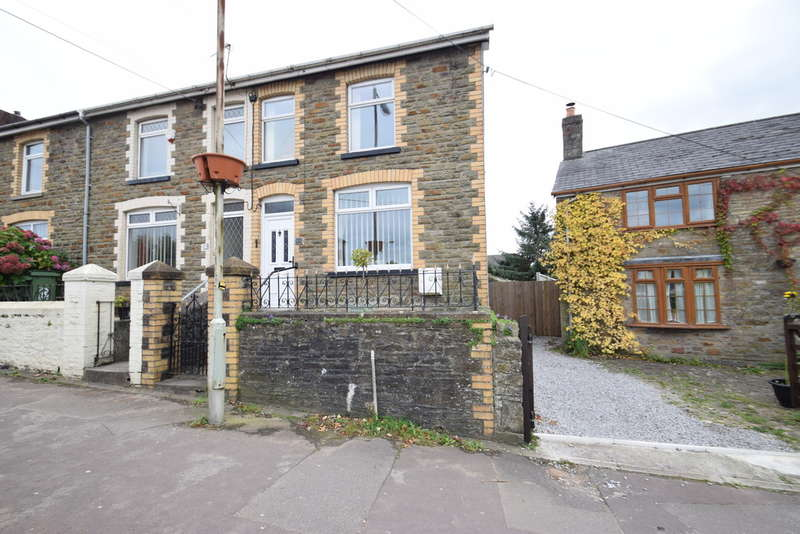 3 Bedrooms End Of Terrace House for sale in 21 Hendre Road, Pencoed, Bridgend County Borough, CF35 6TA