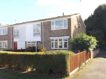 3 Bedrooms Semi Detached House for sale in The Broad Walk, Eynesbury, St. Neots, Cambridgeshire