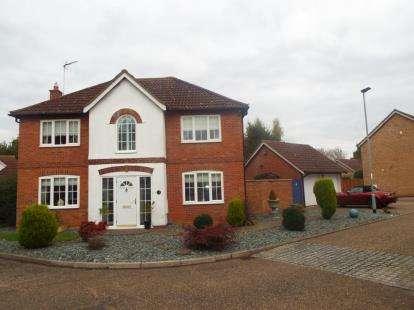 4 Bedrooms Detached House for sale in Borthwick Park, Orton Wistow, Peterborough, Cambridgeshire