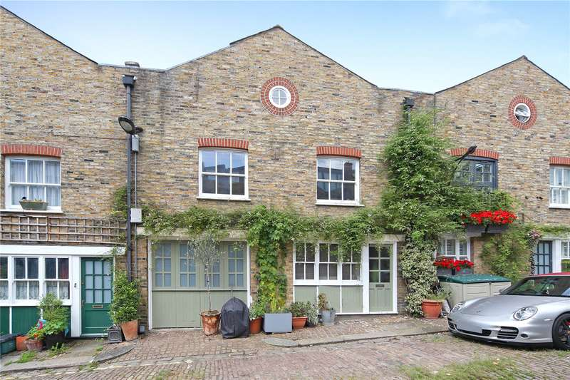 4 Bedrooms House for sale in Railey Mews, London, NW5