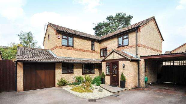 4 Bedrooms Detached House for sale in Chesterblade Lane, Forest Park, Bracknell