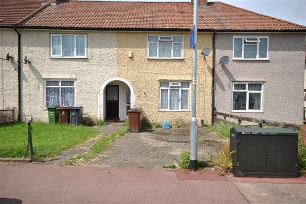 2 Bedrooms Terraced House for sale in Hunters Hall Road, Dagenham