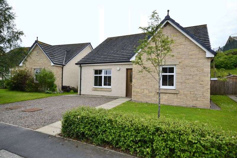 3 Bedrooms Bungalow for sale in 8 Birks View, Galashiels, TD1 1NR