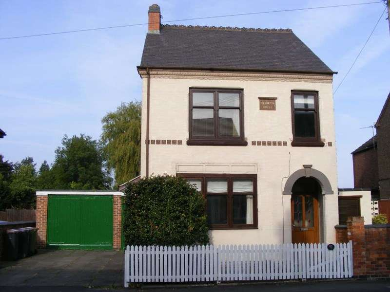4 Bedrooms Detached House for sale in Bakewell Street, Coalville