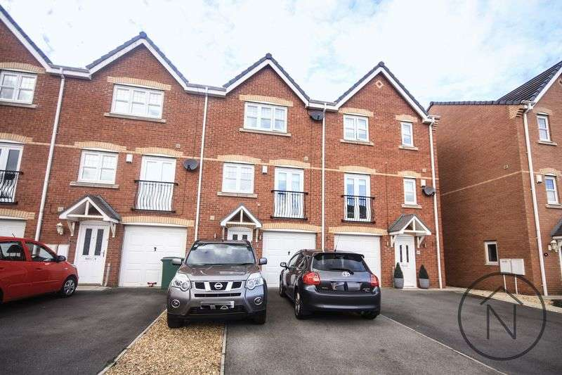 4 Bedrooms Terraced House for sale in Jenner Drive, Stockton-On-Tees