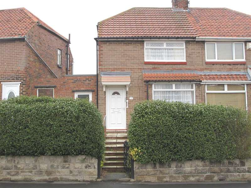 2 Bedrooms Semi Detached House for sale in Rothbury Gardens, Lobley Hill, Gateshead