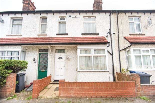 3 Bedrooms Terraced House for sale in Annesley Avenue, LONDON, NW9 5EG