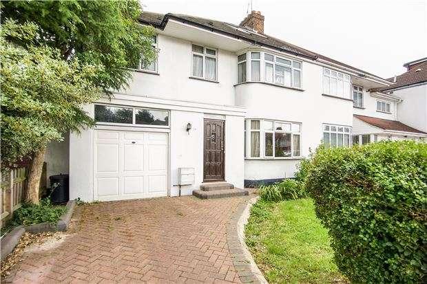 6 Bedrooms Semi Detached House for sale in Ilmington Road, Kenton, Harrow, Middlesex, HA3 0NQ
