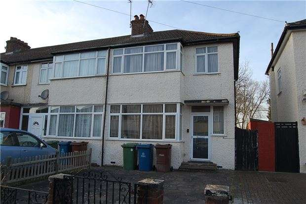 3 Bedrooms Terraced House for sale in Landseer Close, EDGWARE, Middlesex, HA8 5SB