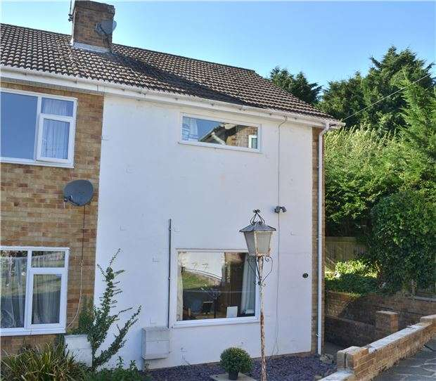 3 Bedrooms End Of Terrace House for sale in Anthony Close, Dunton Green, SEVENOAKS, Kent, TN13 2XH