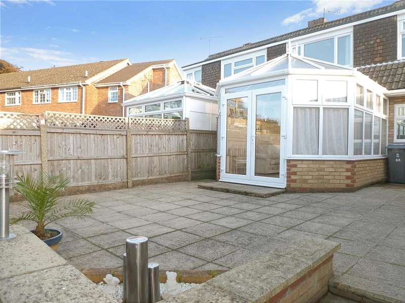2 Bedrooms Semi Detached Bungalow for sale in Nursery Lane, Whitfield, Dover, Kent